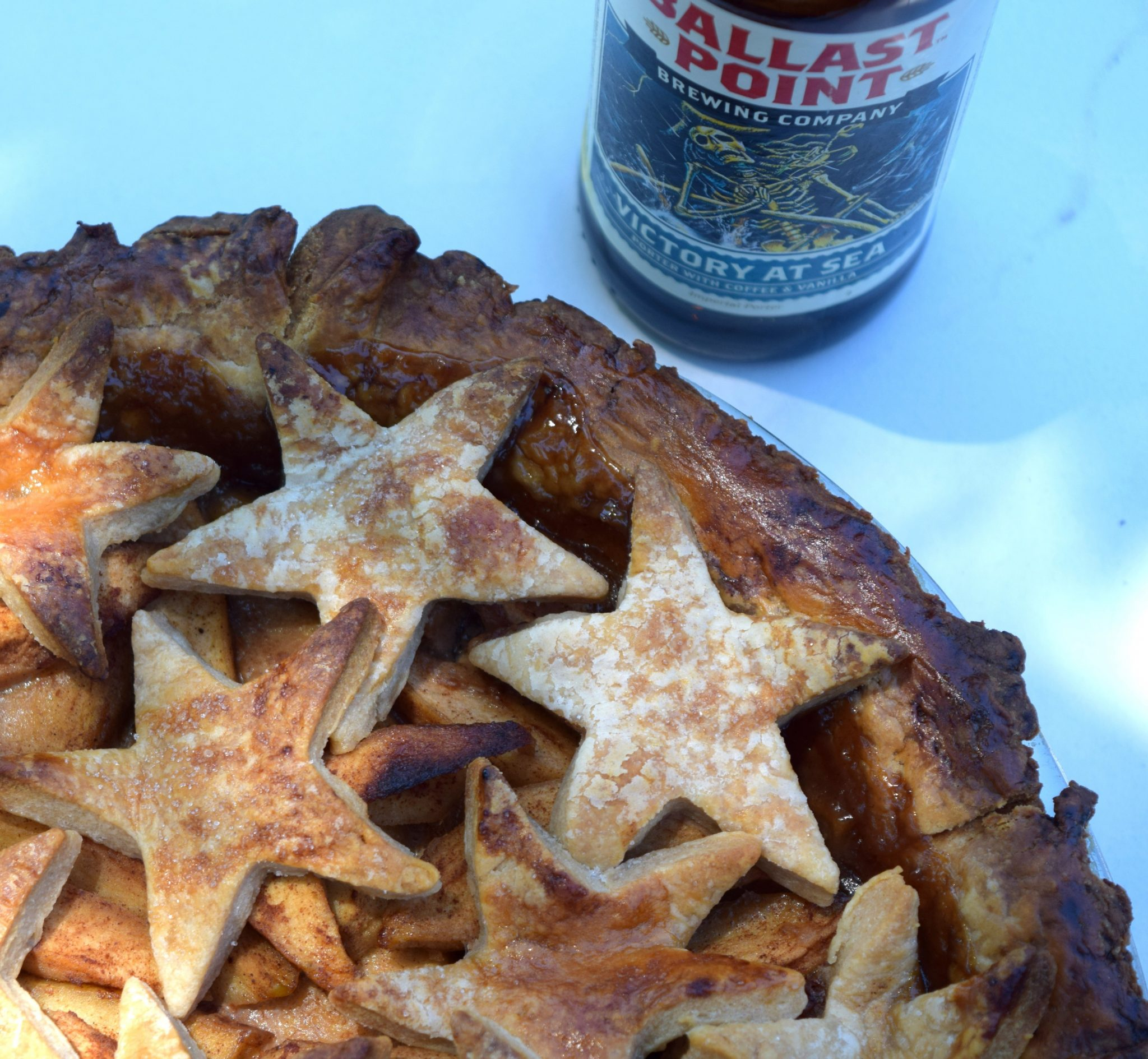 Happy Memorial Day and Boozy Caramel Apple Pie