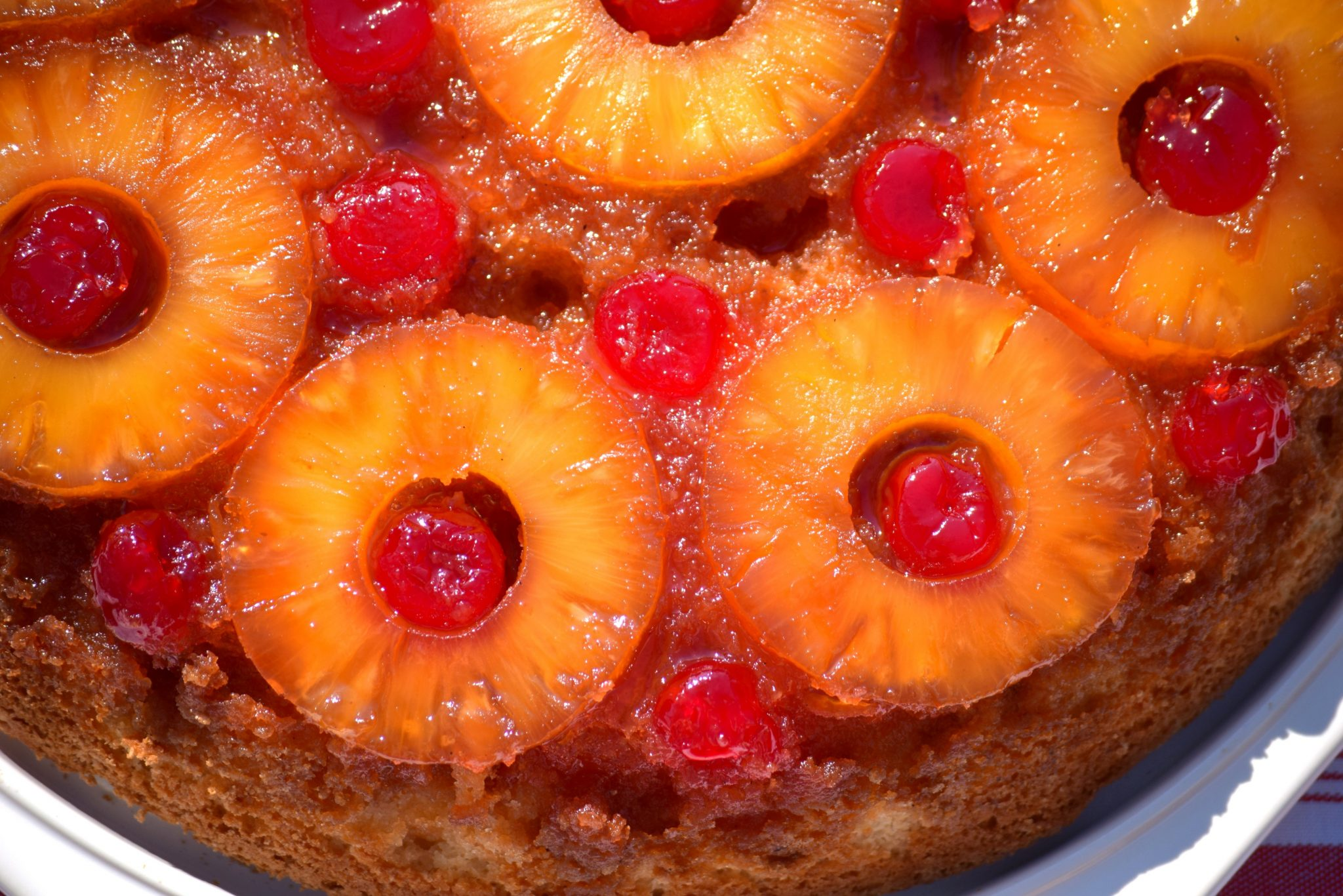 pineapple upside down cake pineapple mango upside down cake ...