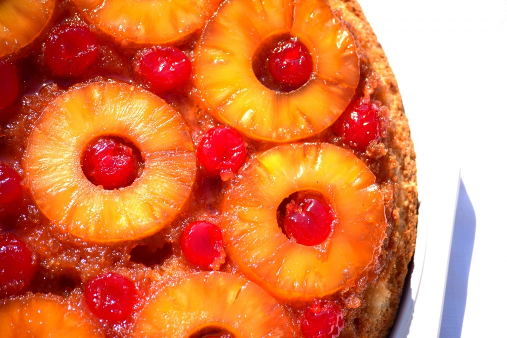 Skillet Pineapple Upside Down Cake | Beer Girl Cooks
