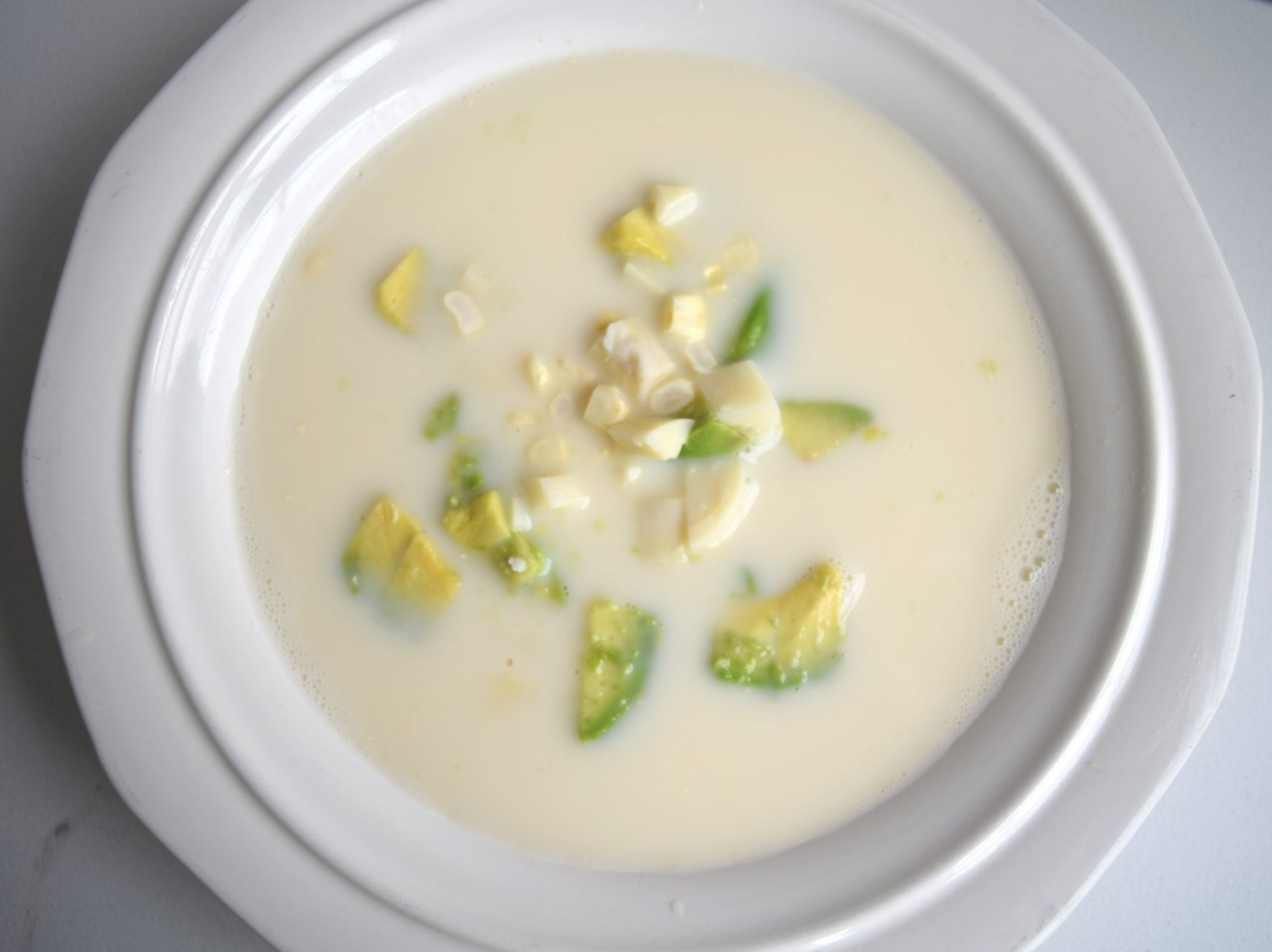 Summer Cold Corn Soup