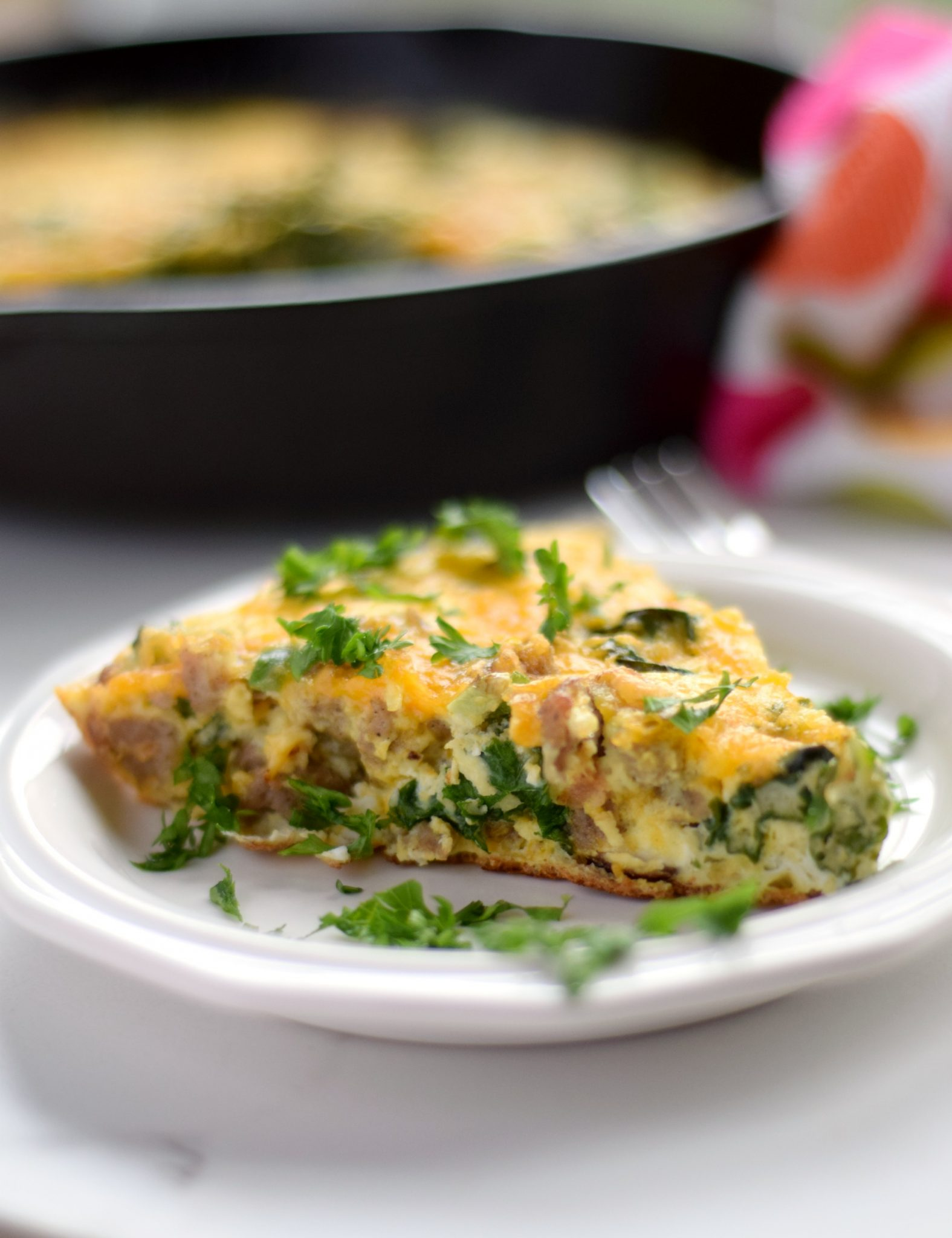 Hearty Holiday Breakfast Frittata