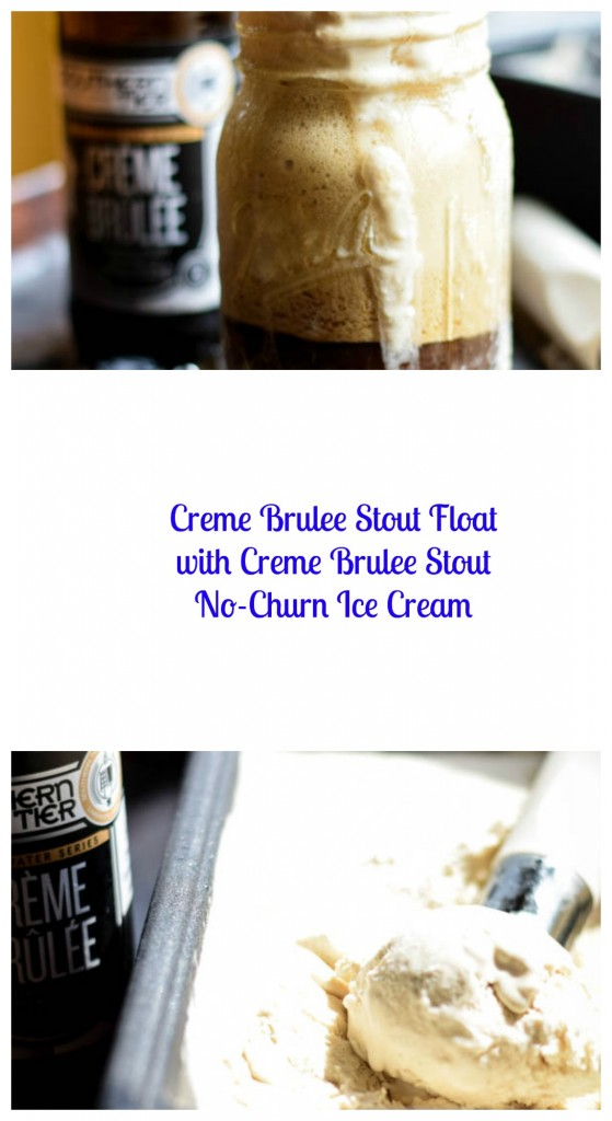 Creme Brulee Stout Float