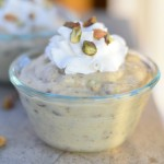 Homemade Pistachio Pudding