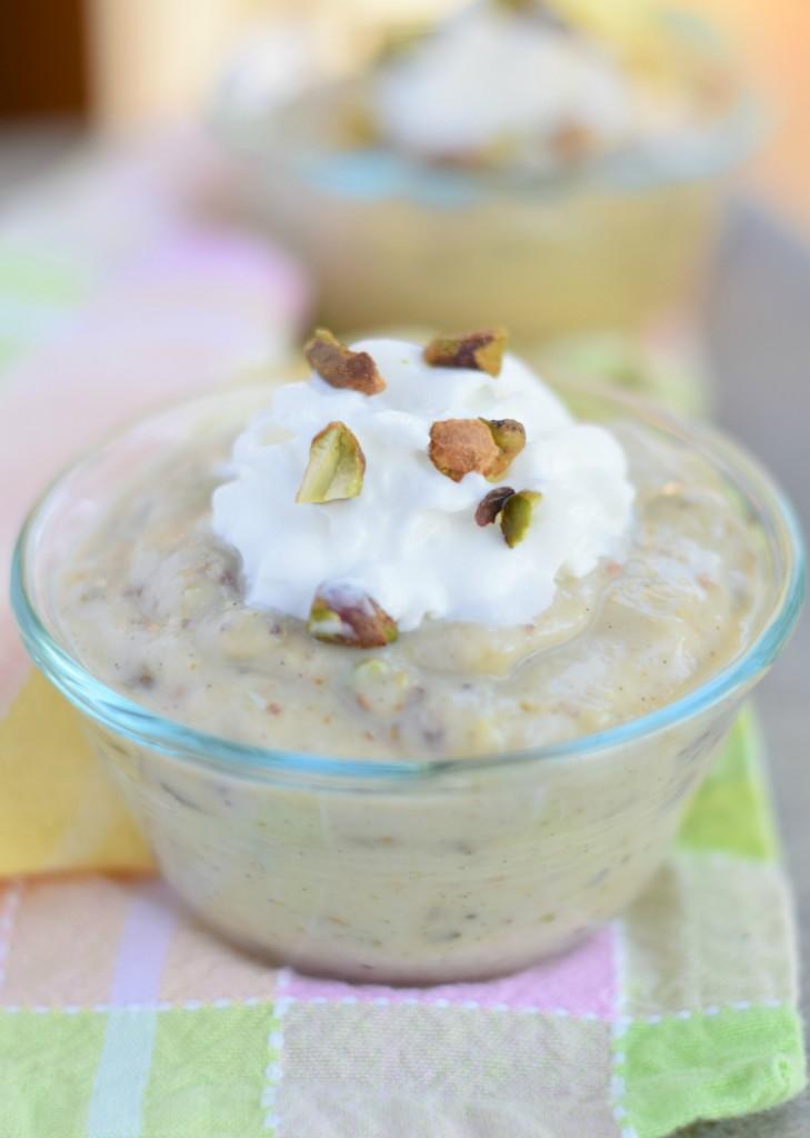 Homemade Pistachio Pudding