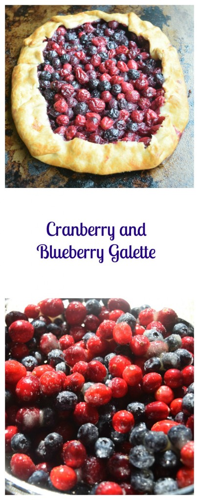Cranberry and Blueberry Galette