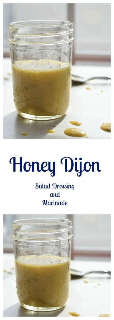 Honey Dijon Salad Dressing and Marinade