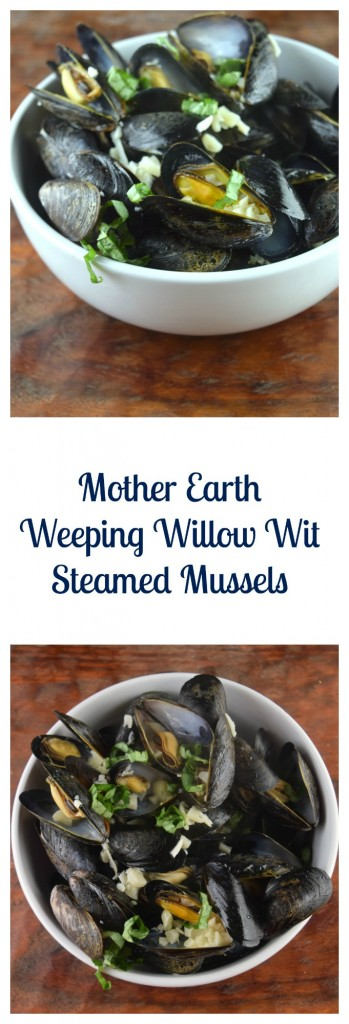 Mother Earth Weeping Willow Wit Steamed Mussels