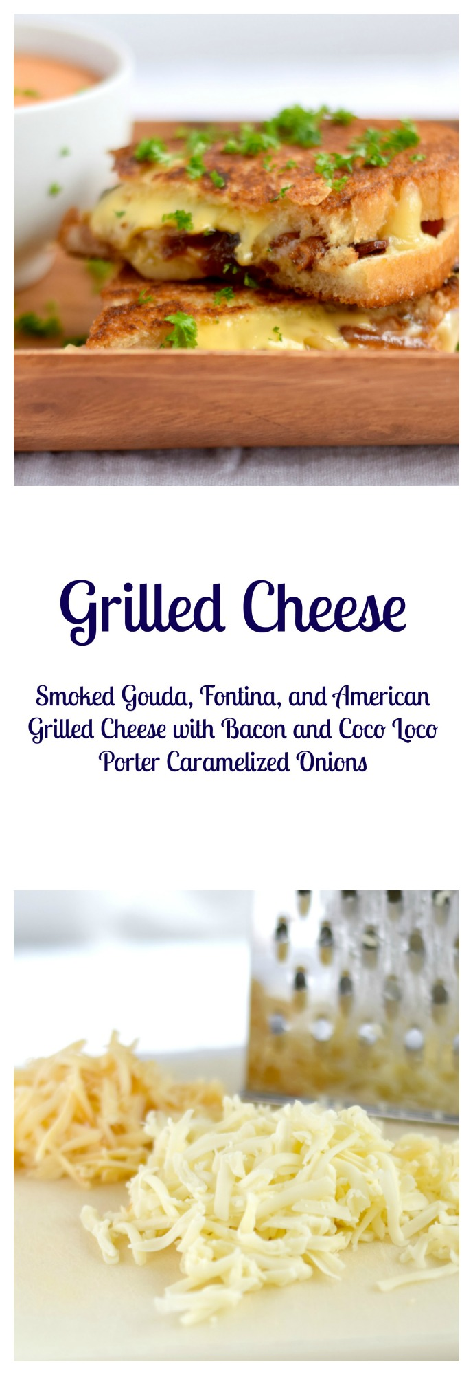 Smoked Gouda, Fontina, American Grilled Cheese with Bacon and Coco ...