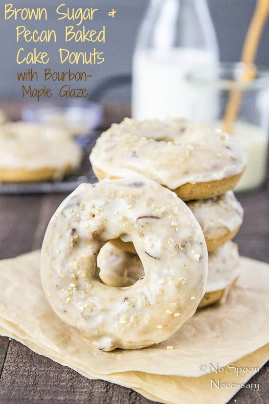 Brown-Sugar-Pecan-Baked-Cake-Donuts-with-Bourbon-Maple-Glaze-short-pin