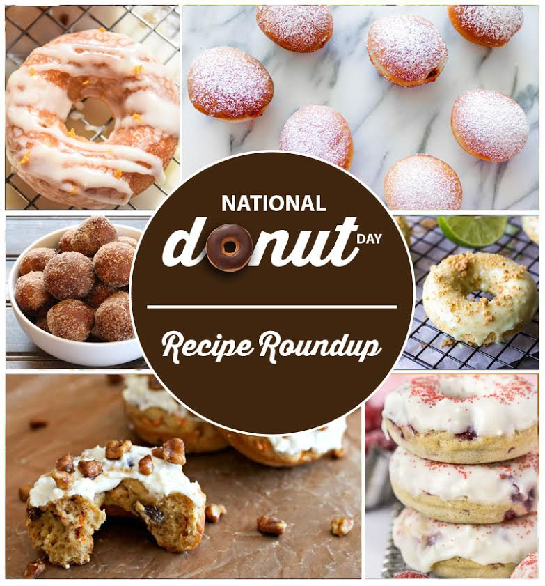 National Doughnut Day Doughnut Recipe Roundup