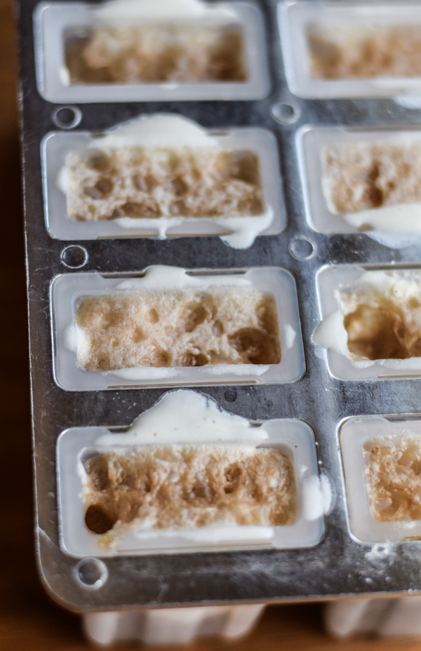 Boozy Root Beer Float Popsicles
