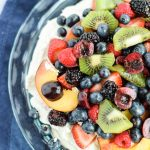 Mixed Summer Fruit Pavlova
