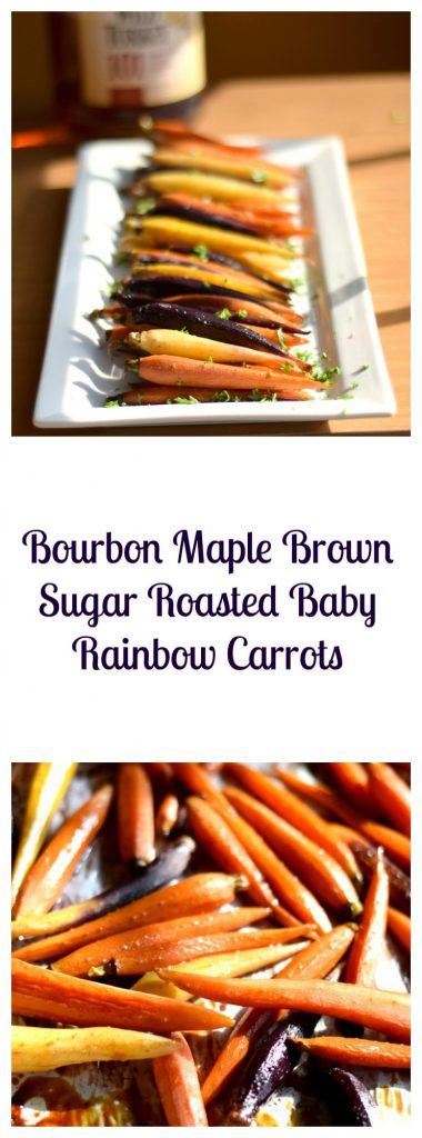 bourbon-maple-brown-sugar-roasted-baby-rainbow-carrots