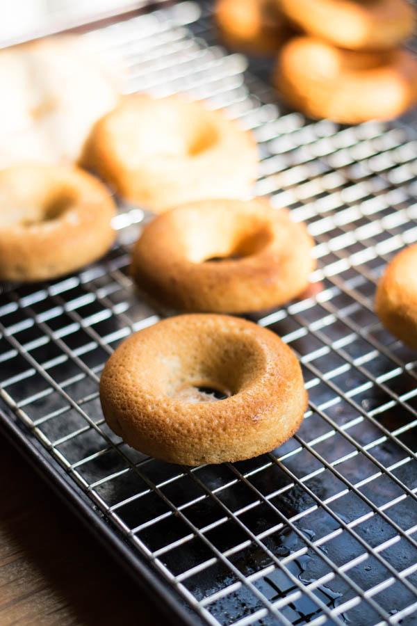Caramel Apple Baked Donuts Recipe