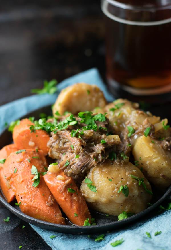 Brown Ale Beer-Braised Pot Roast