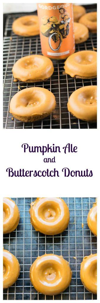 Pumpkin Ale and Butterscotch Donuts Recipe