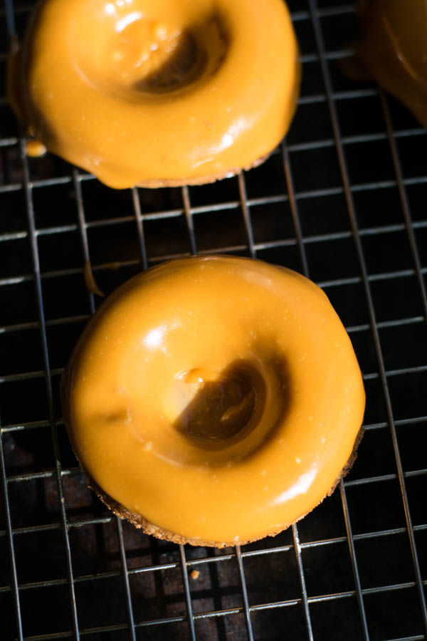 Pumpkin Ale and Butterscotch Donuts Recipe