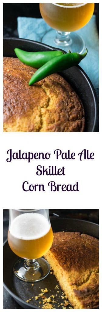 Jalapeno Pale Ale Skillet Cornbread