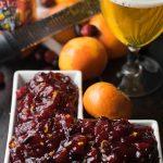Mandarin IPA Cranberry Sauce