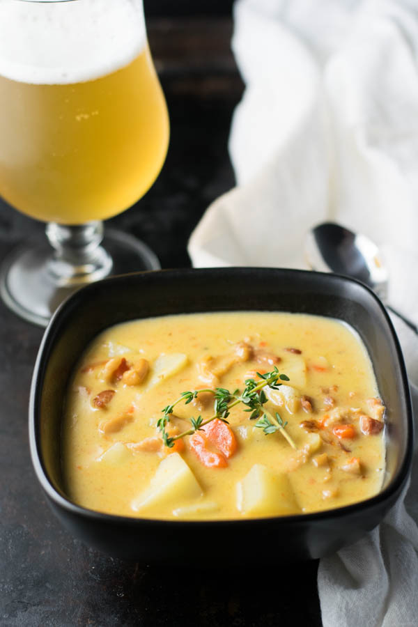 Belgian Beer Conch Chowder
