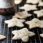 Bourbon Barrel Stout Sugar Cookies with Bourbon Barrel Smoked Sugar is an update to a traditional sugar cookie recipe for a unique and tasty adult treat!