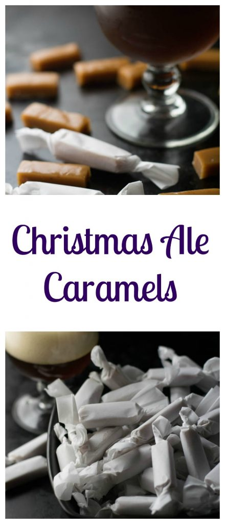 Christmas Ale Caramels