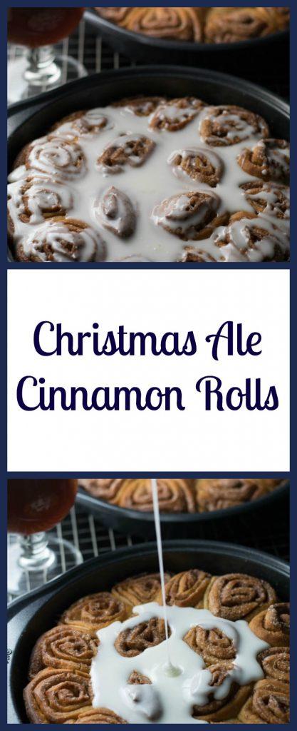 Christmas Ale Cinnamon Rolls