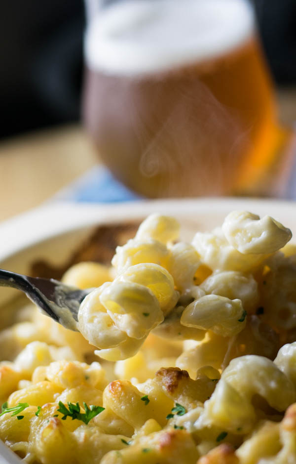 Four Cheese Beer Mac 'n Cheese takes beer cheese to a new level. It's rich and delicious and full of amazing flavor that is sure to please any crowd.