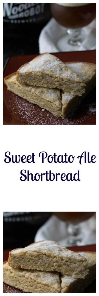 Sweet Potato Ale Shortbread