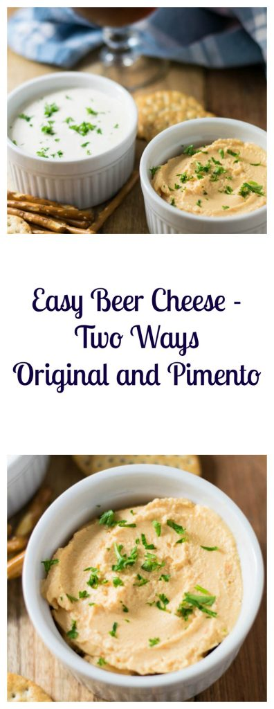 Easy Beer Cheese - Two Ways