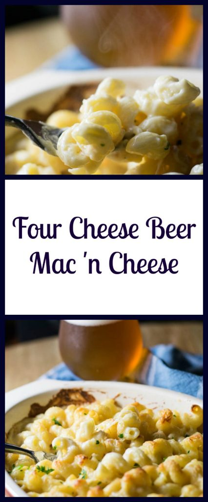 Four Cheese Beer Mac 'n Cheese