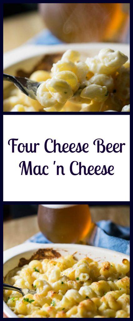 Four Cheese Beer Mac 'n Cheese