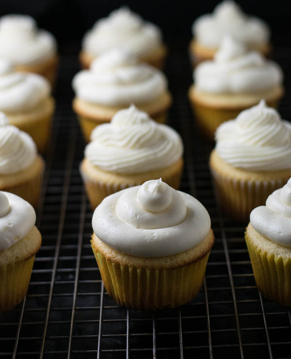 Honey Roasted Grapefruit Wheat Ale and Meyer Lemon Cupcakes with Cream Cheese Frosting