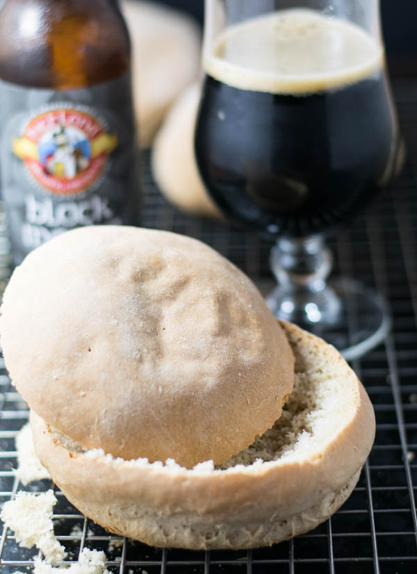 Beer Bread Bowls are an amazing vehicle to serve the most comforting foods in from homemade soups to dips for entertaining and sharing foods with friends