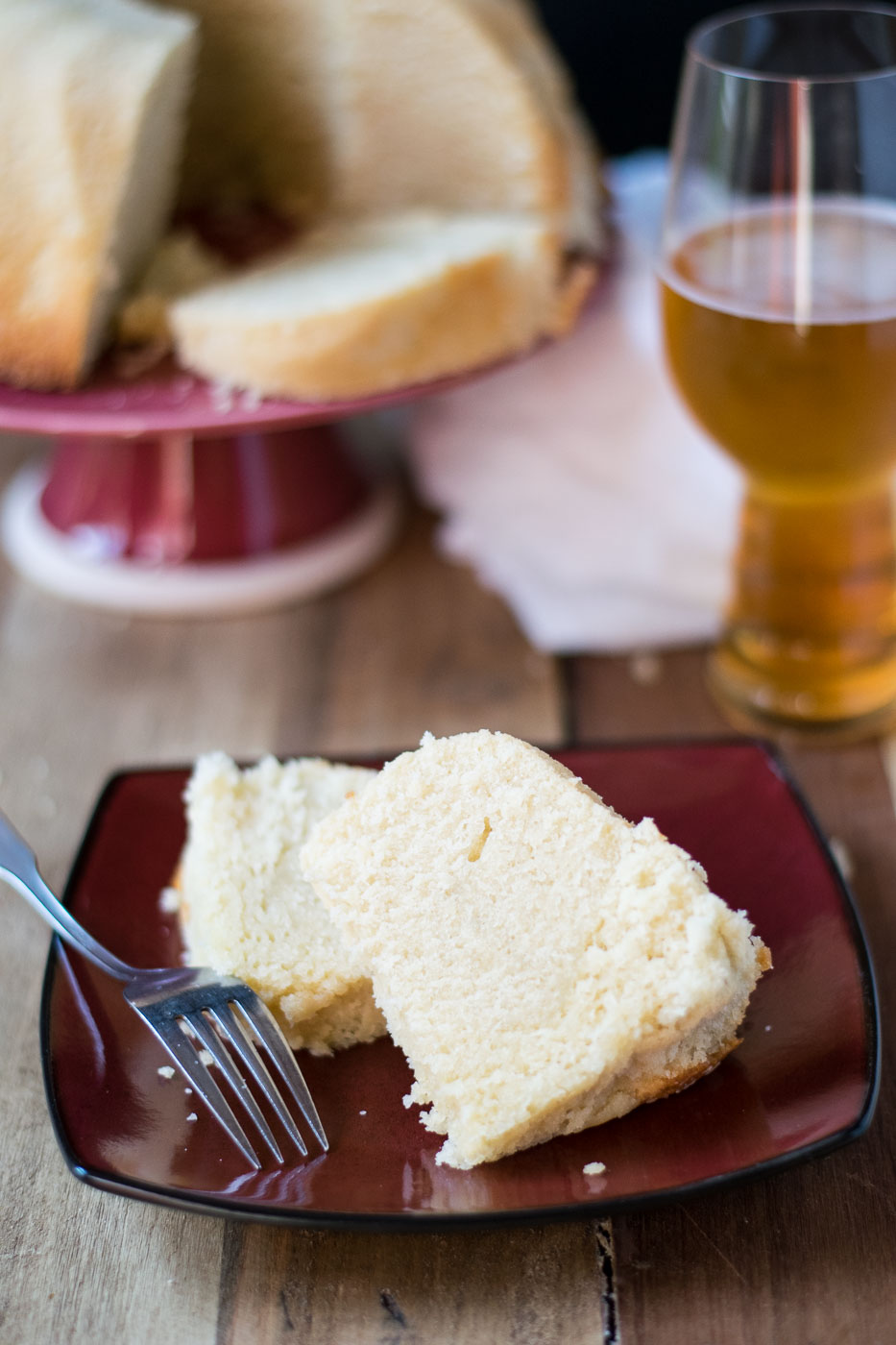 Coffee Vanilla Beer Pound Cake Beer Girl Cooks