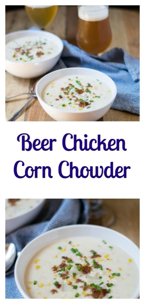 Beer Chicken Corn Chowder